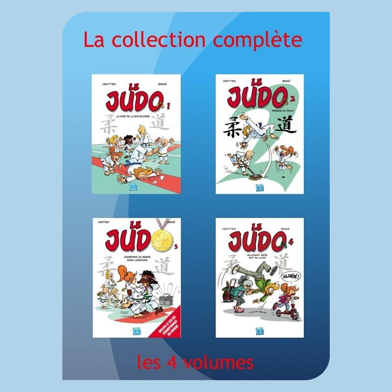 Judo BD, collection complète, ErelEditions