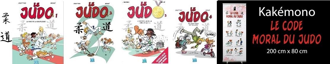 Le judo la BD kakémono du code moral du judo